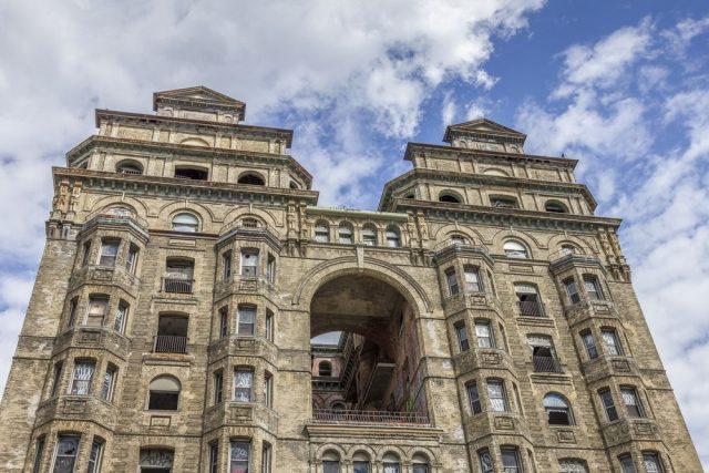 Hotel Lorraine, Filadelfie, opuštěné hotely