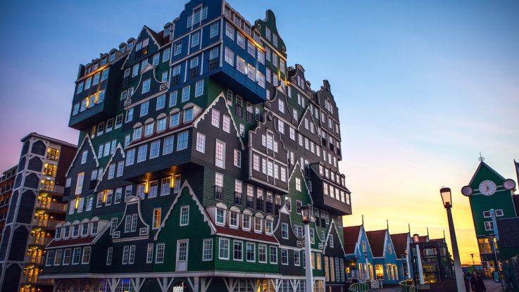 Inntel Hotel Zaandam v Amsterodamu, Neobvyklé hotely světa