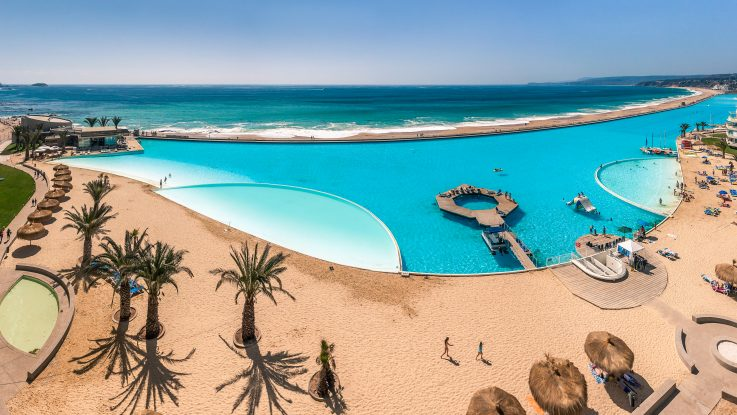 Největš bazén na světě, Chile