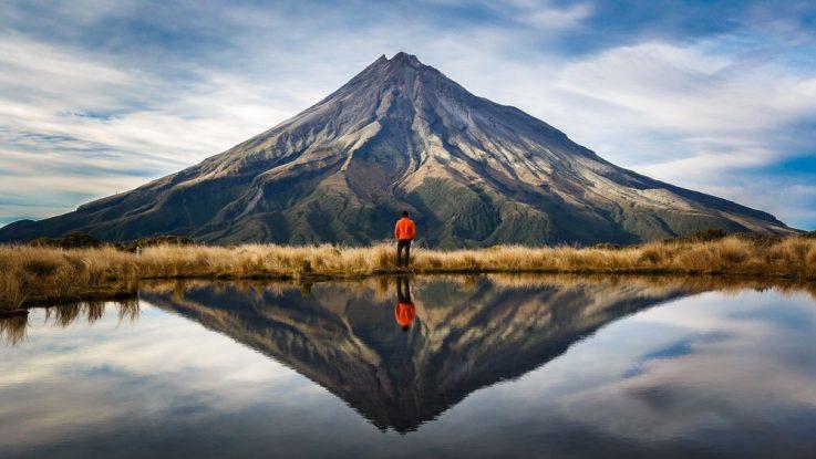 Sopka Taranaki, Nový Zéland