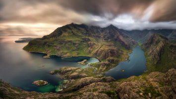 Skotsko, jezero Loch Coruisk