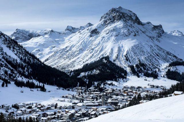 Arlberg Rakouské lyžařské středisko