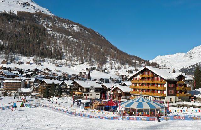Nejkrásnější alpská lyžařská střediska