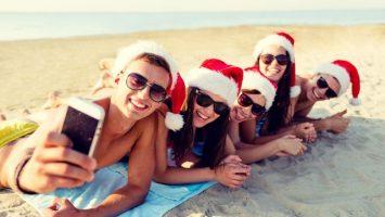 Silvestr a Vánoce v teple