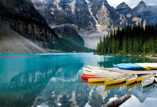 nejkrásnější hory světa, Banff