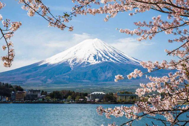 nejkrásnější hory světa, Hora Fudži