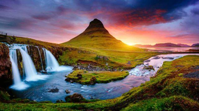 nejkrásnější hory světa, Kirkjufell