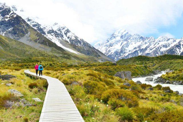nejkrásnější hory světa, Mount Cook