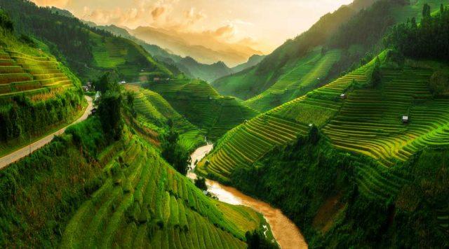 Mu Cang Chai, Vietnam, nejkrásnější hory světa