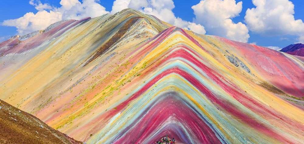 Vinicunca, Peru, nejkrásnější hory světa