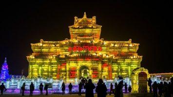 Ledový festival Harbin
