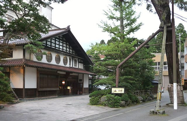 Nejstarší hotel v Japonsku