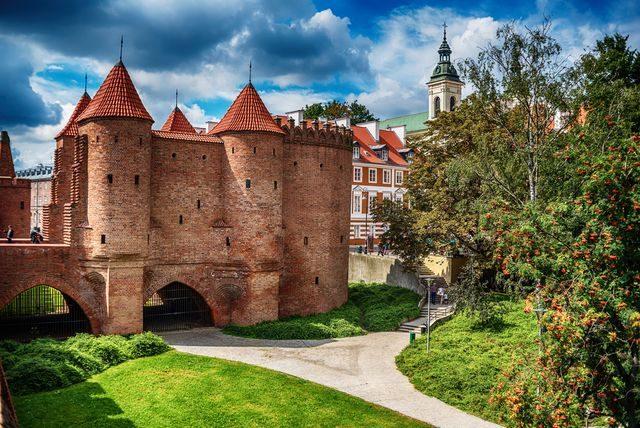 Levná města pro víkendovou dovolenou, Varšava, Polsko