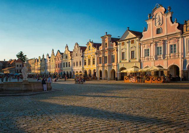 Nejkrásnější vesnice v Evropě,Telč, Česká republika
