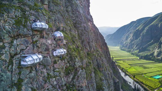 Hotel na skále, Peru
