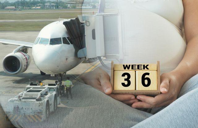 Létání v těhotenství