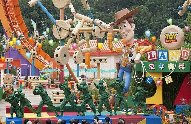 Nová atrakce v Disney Worldu - Toy Story Land