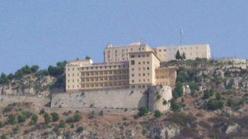Prázdný hotel Sciacca Itálie