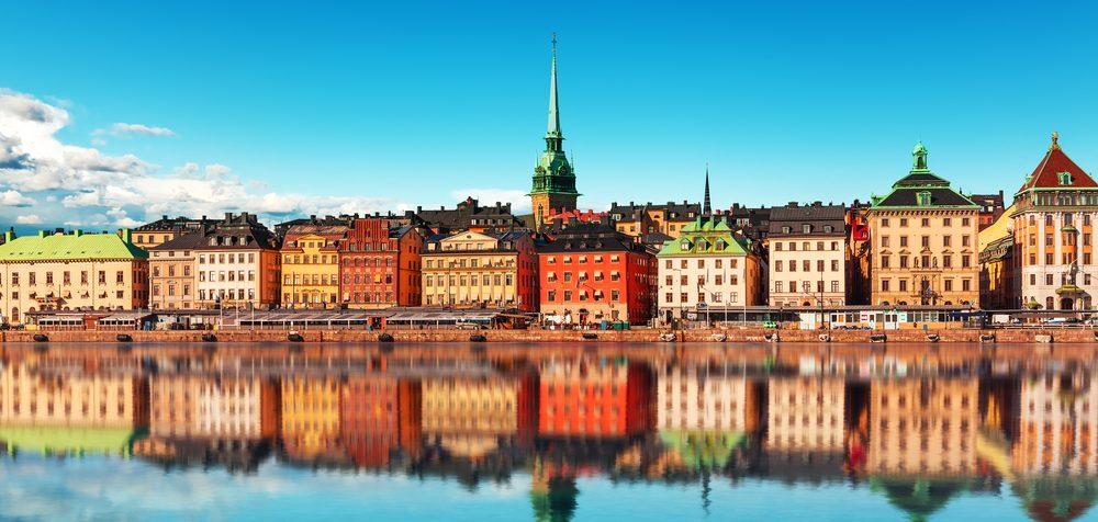 Švédská města