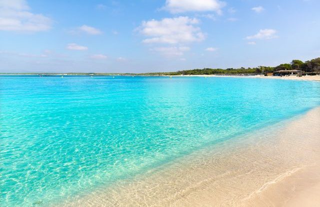 Pláž Es Trenc, Mallorca