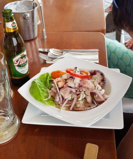 Peruanska kuchyně - Ceviche