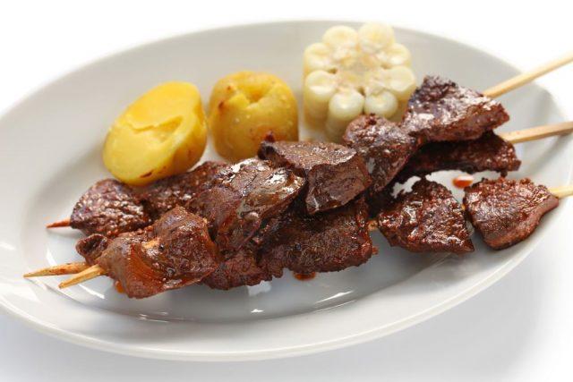 Peruanska kuchyně - Anticuchos