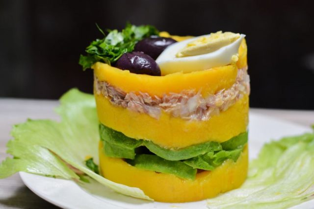 Peruanska kuchyně - Causa