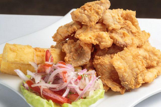 Peruanska kuchyně - Chicharrón