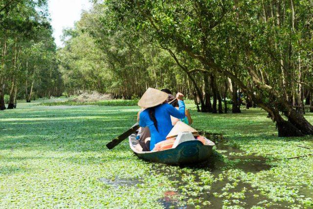 Cestování po Laosu, Projížďka po řece Mekong v An Giang
