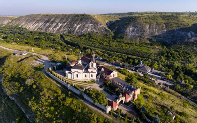 Klášter Orheiul Vechi, Moldavsko