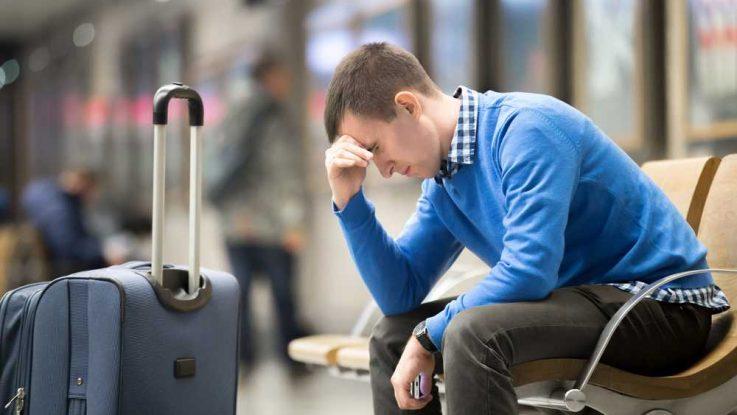 Výsledek obrázku pro kufr panika cestování