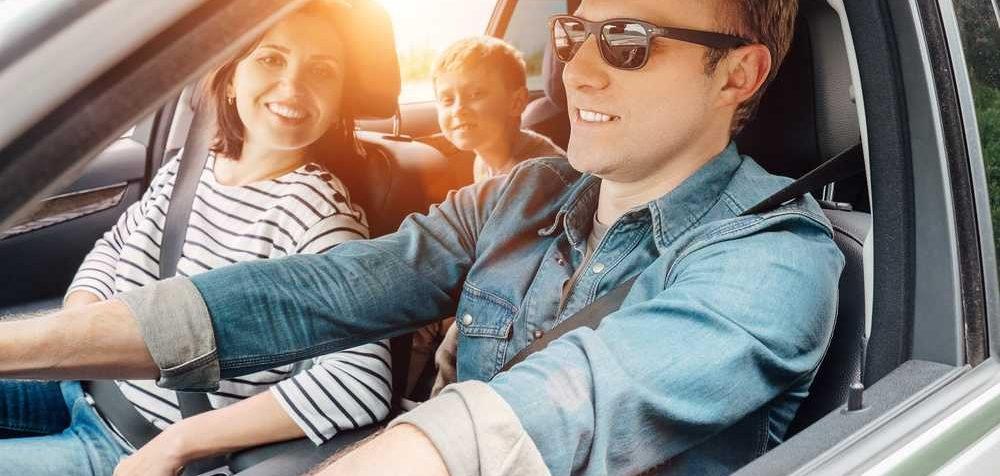 Cviky pro dlouhou jízdu autem