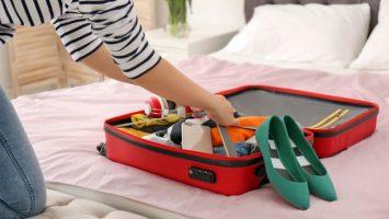 Balení příručního zavazadla