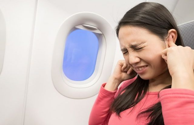 Bolest uší při létání