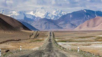 Pamir highway, Tádžikostán