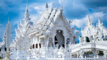 Wat Rong Khun, Bílý chrám v Thajsku