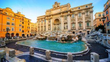 Řím, fontana di trevi