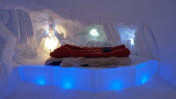 Iglú hotel Davos