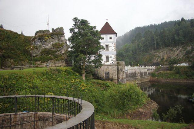 Labská přehrada Krkonoše