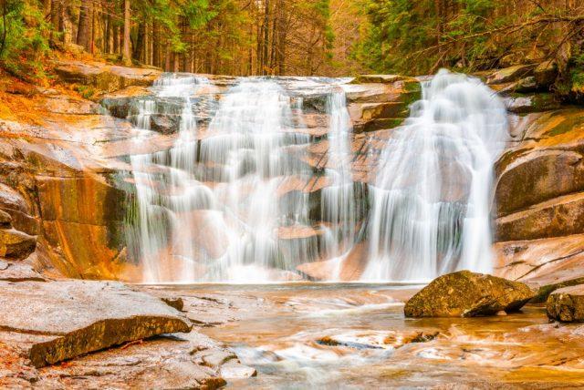 Mumlavský vodopád Krkonoše