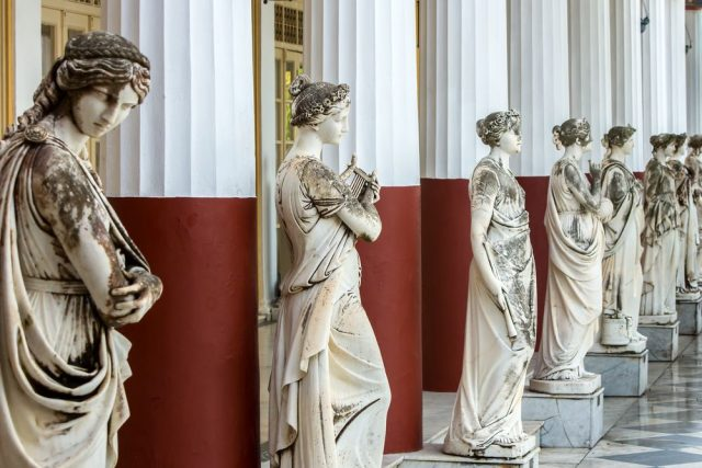 zámek Achillion na Korfu císařovna Sisi