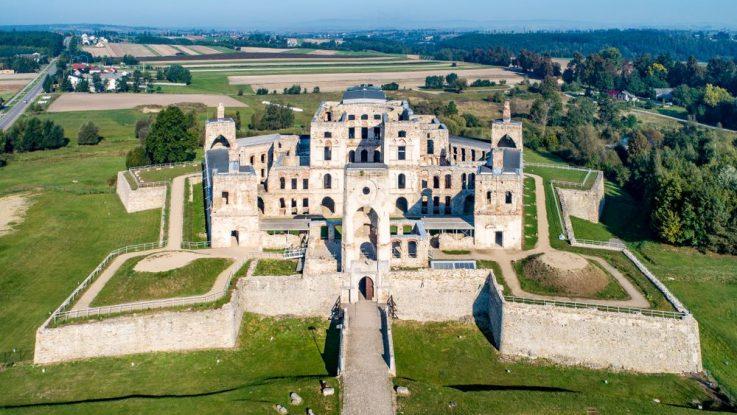 hrad Krzyztopor