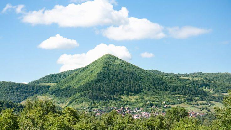 pyramida v Bosně u Visoko