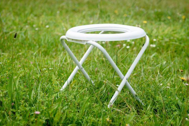 záchod jako stolička