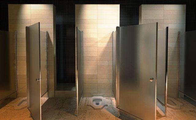 turecké záchody