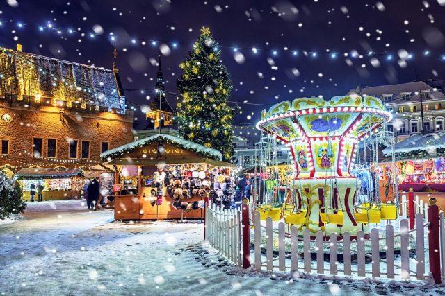 Vánoční trhy v Tallinu