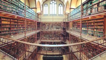 Knihovna v Amsterdamu