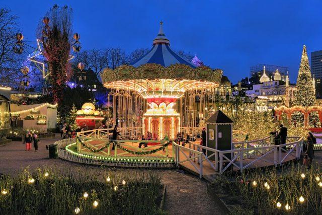 Vánoční trhy v Kodani