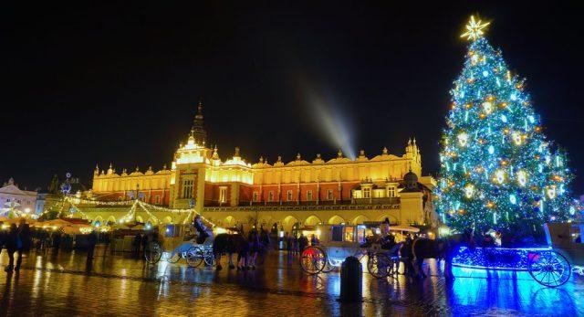 Vánoční trhy v Krakově