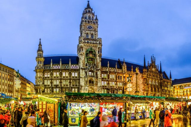 Vánoční trhy v Mnichově